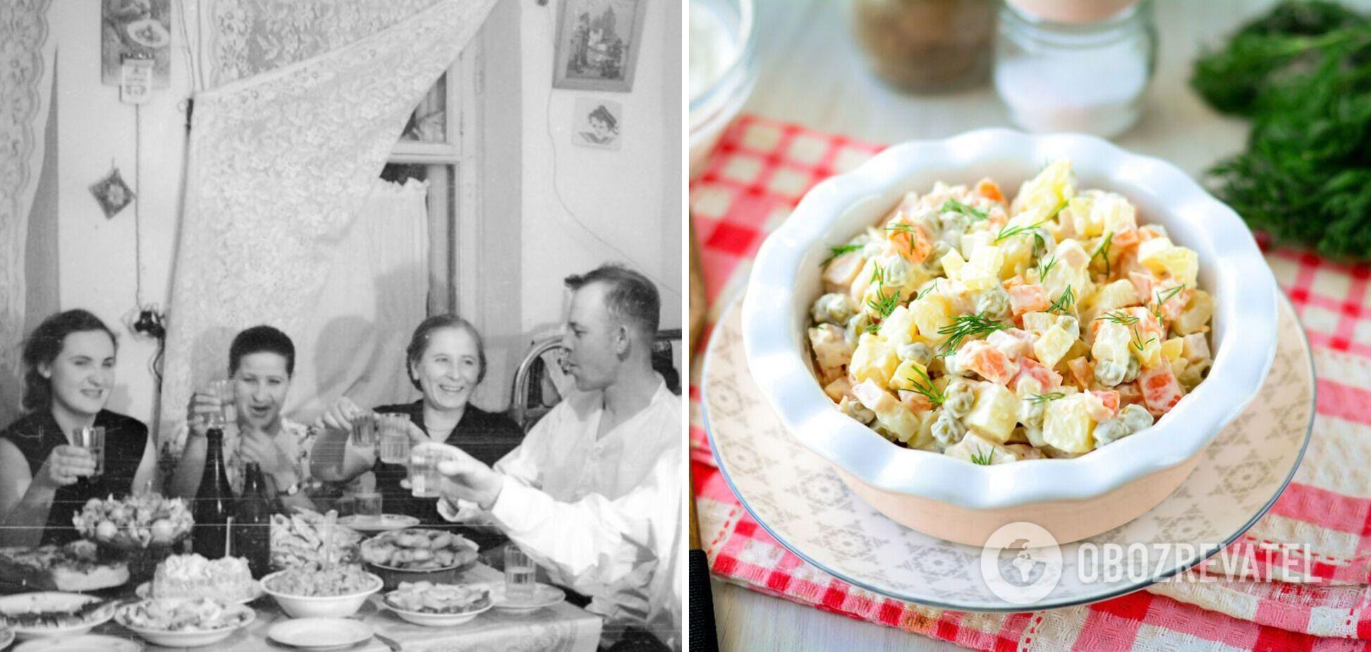 Найпопулярніші салати в СРСР