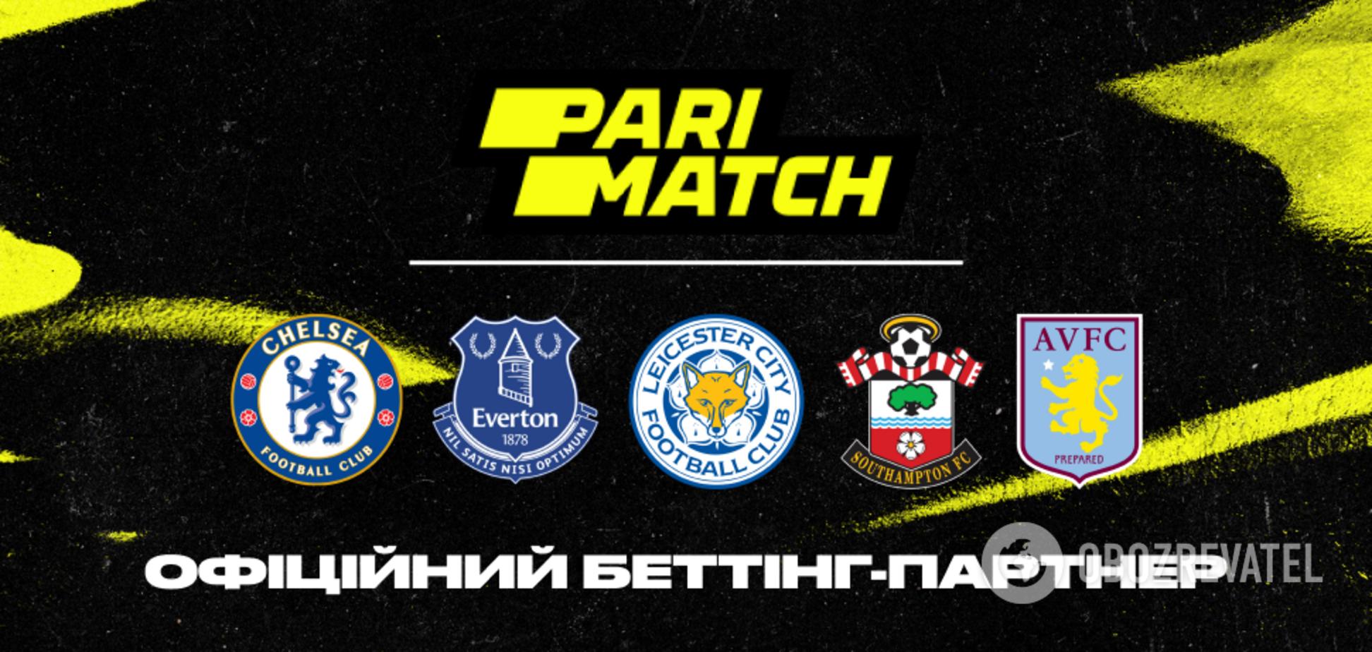 Parimatch анонсує партнерство з шістьма провідними футбольним клубами АПЛ