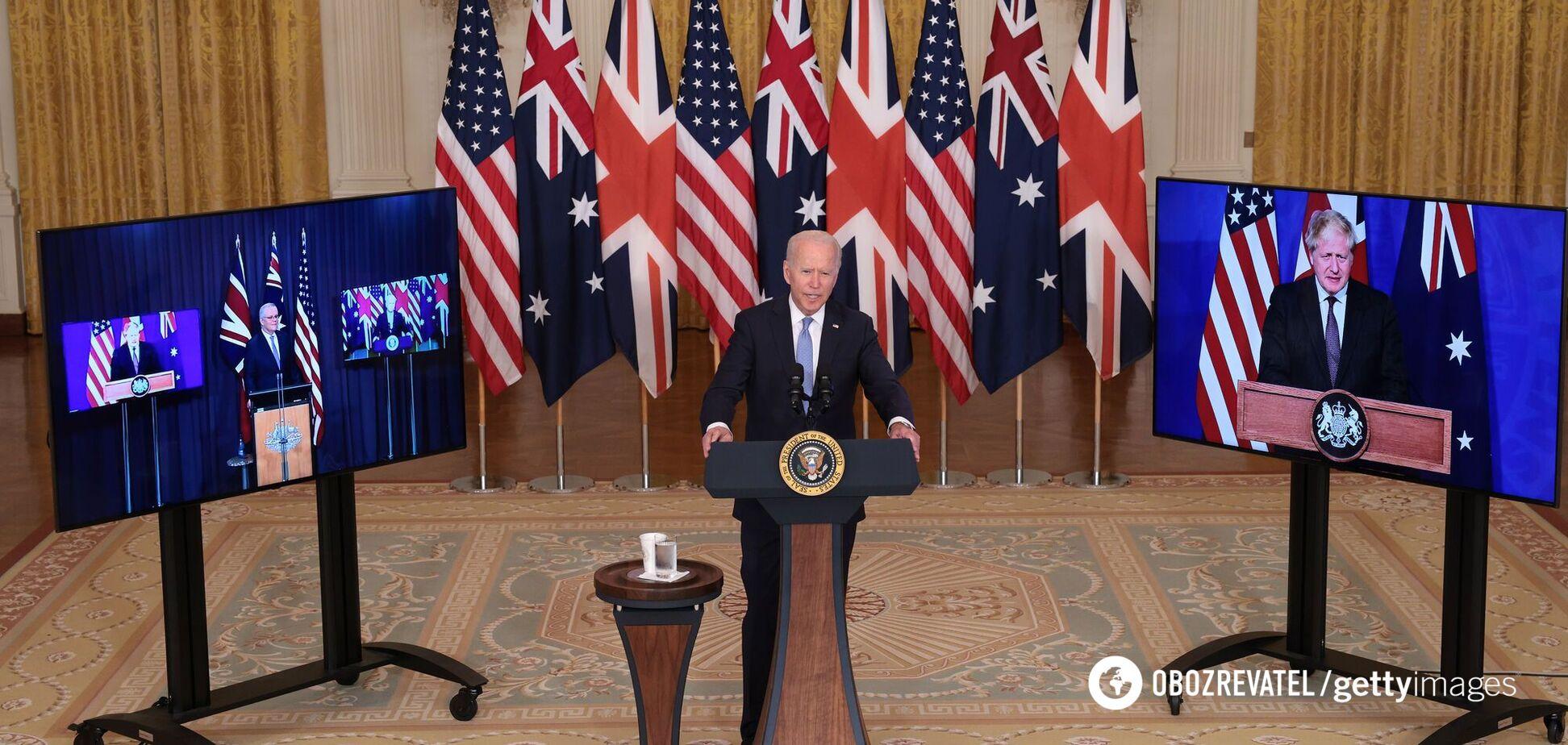 Британия, США и Австралия подписали исторический пакт о безопасности и обмене оборонными технологиями