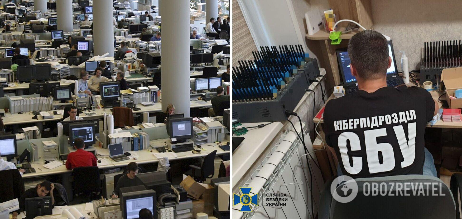 В Україні викрили ботоферму, яка працювала на Росію: створила майже 50 тис. фейкових акаунтів. Фото