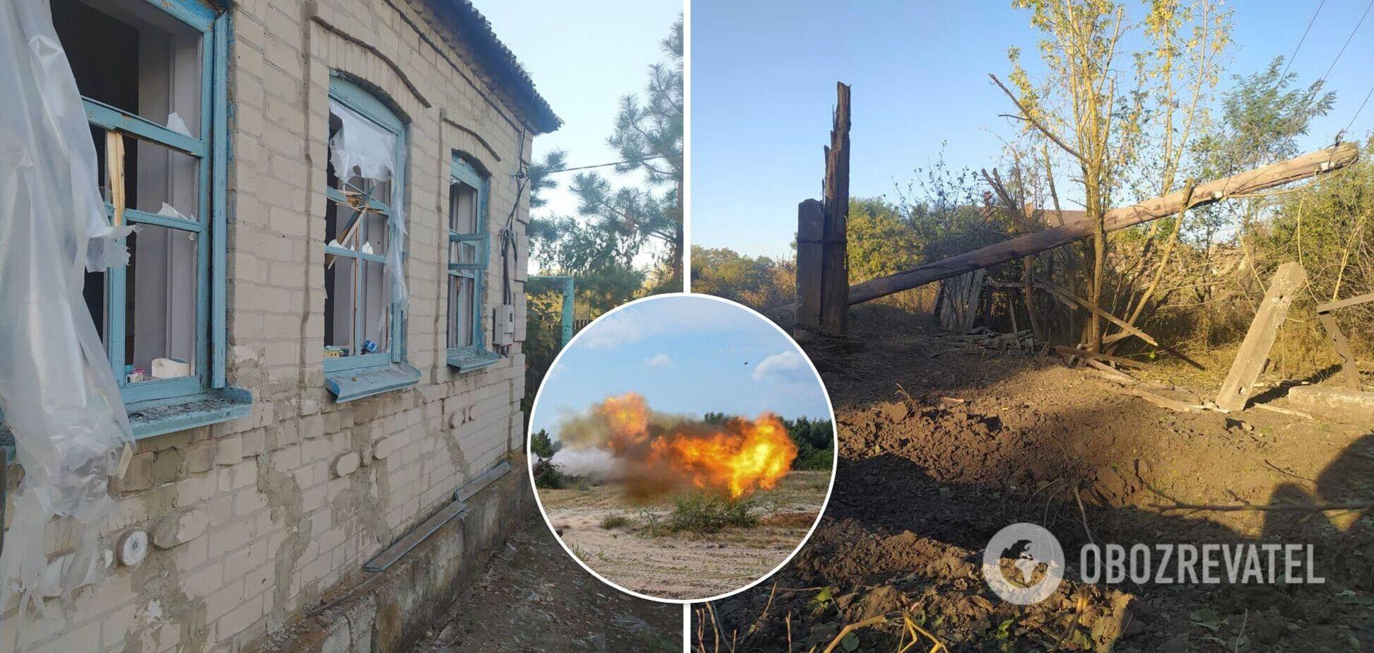 Повреждены дома и линии электропередач: появились фото последствий обстрела на Донбассе