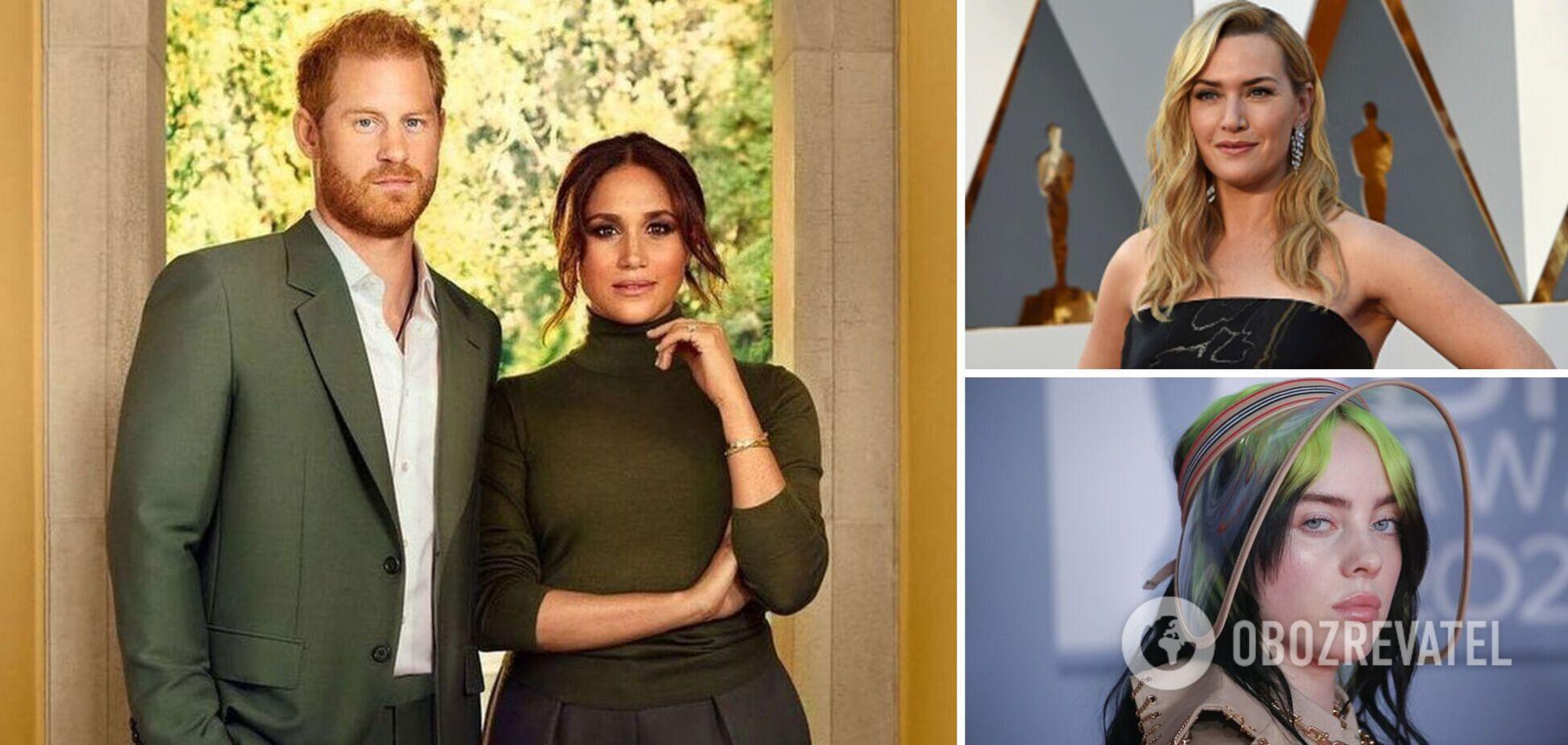Принц Гарри с Меган Маркл, Кейт Уинслет, Билли Айлиш: Time назвал 100 самых влиятельных людей в мире