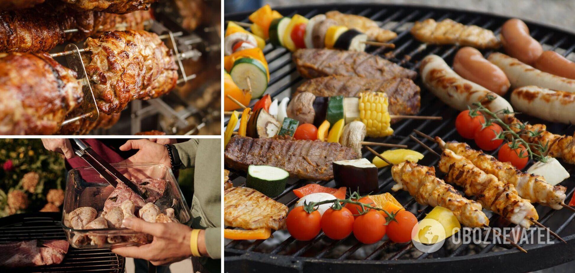 Идеальное мясо и овощи для шашлыка без мангала