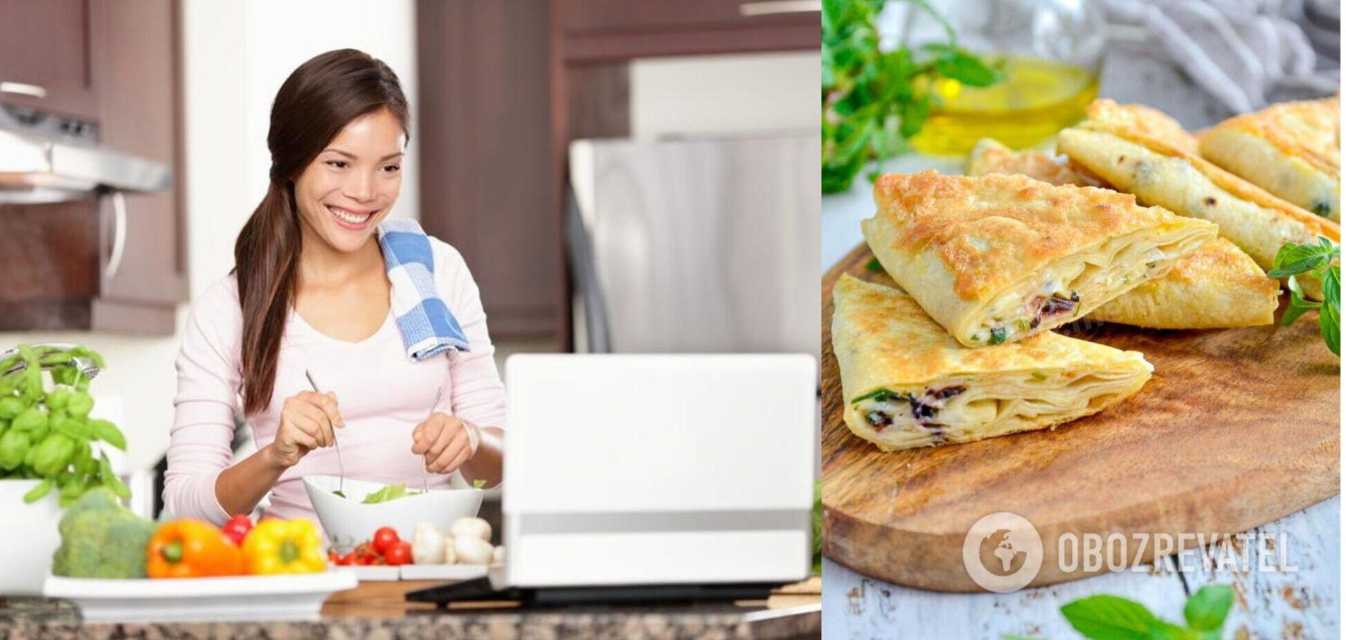 Ліниві пиріжки з лаваша допомагають заощадити час
