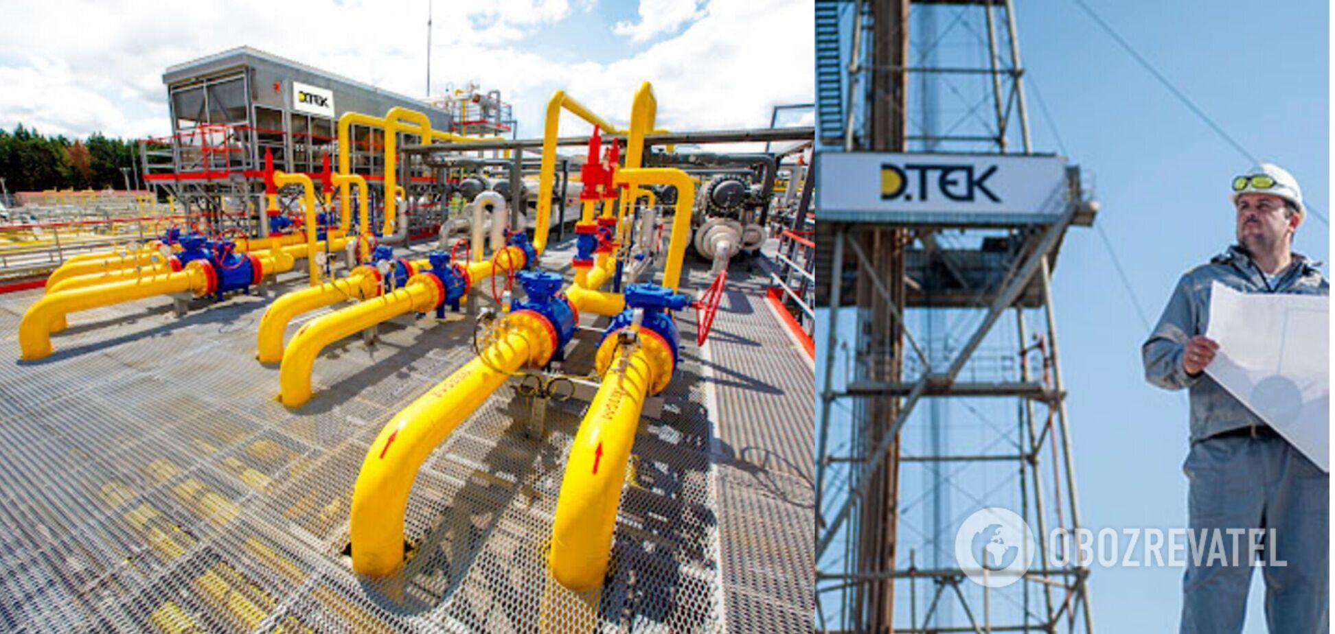 Компания 'ДТЭК Нефтегаз' в первом полугодии 2021 года увеличила добычу природного газа