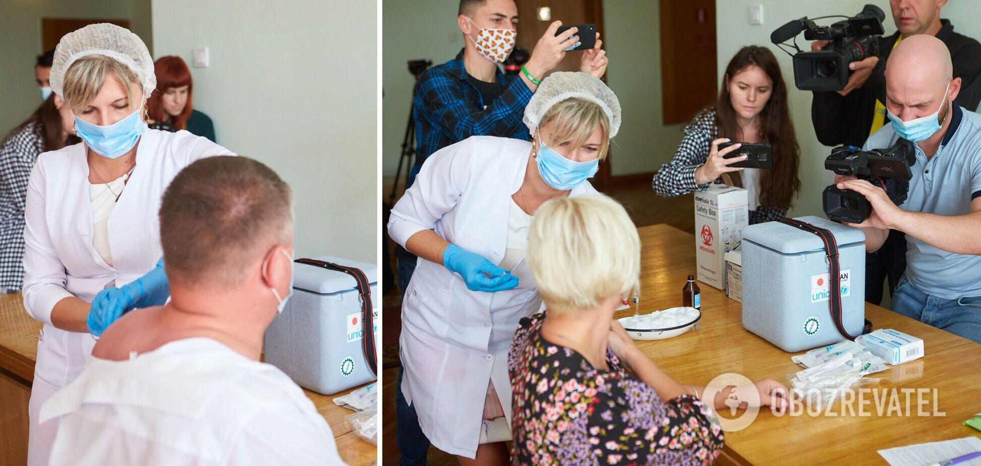Депутатам сделали прививки прямо на сессии горсовета