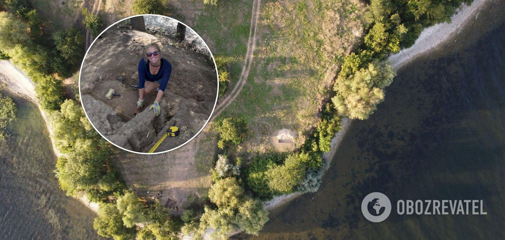 На Херсонщині археологи виявили піч, якій близько тисячі років. Фото