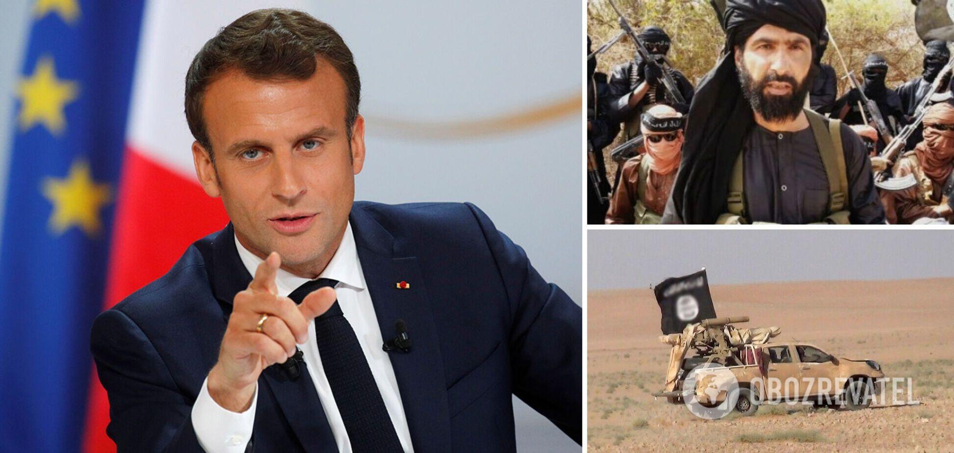 Макрон заявив про ліквідацію французькими військовими ватажка 'ІД у Великій Сахарі'