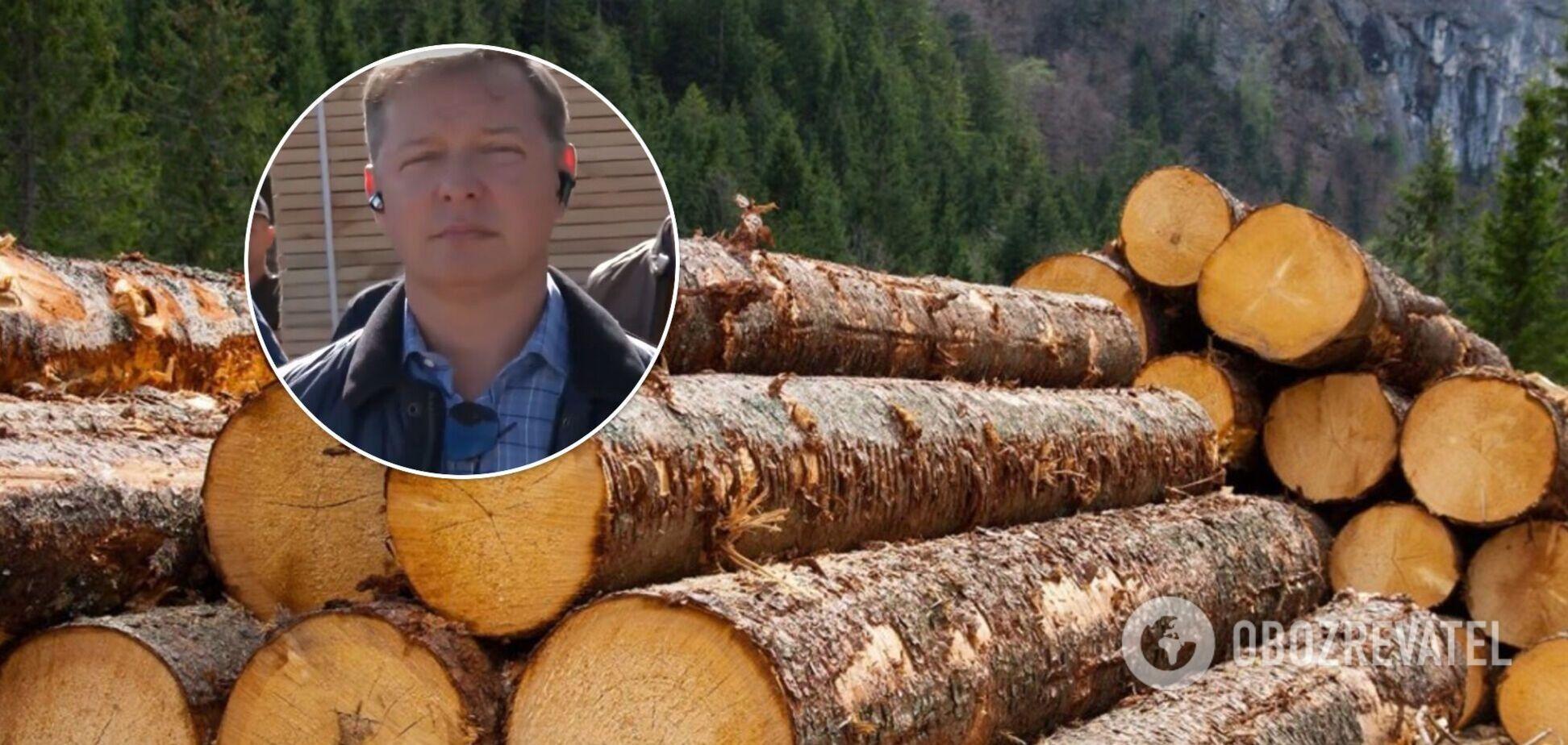 Ляшко призвал не убивать украинскую деревообработку
