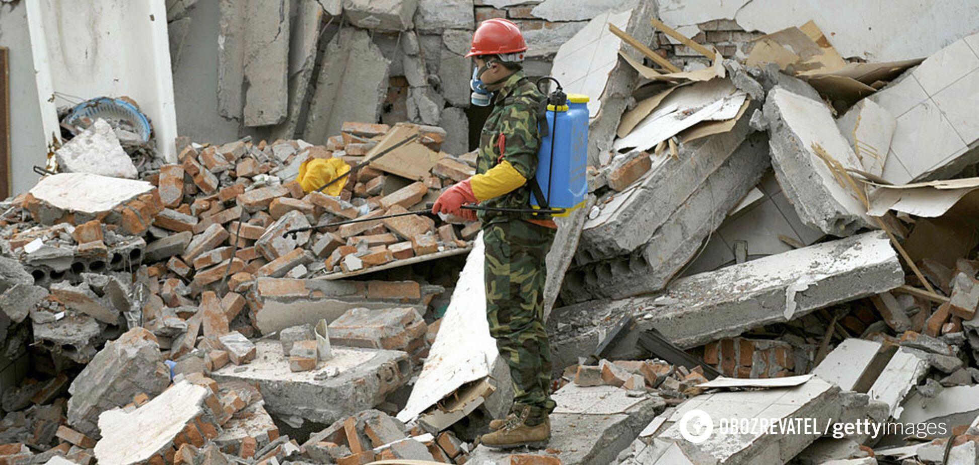 В Китае произошло мощное землетрясение, есть погибшие. Фото и видео