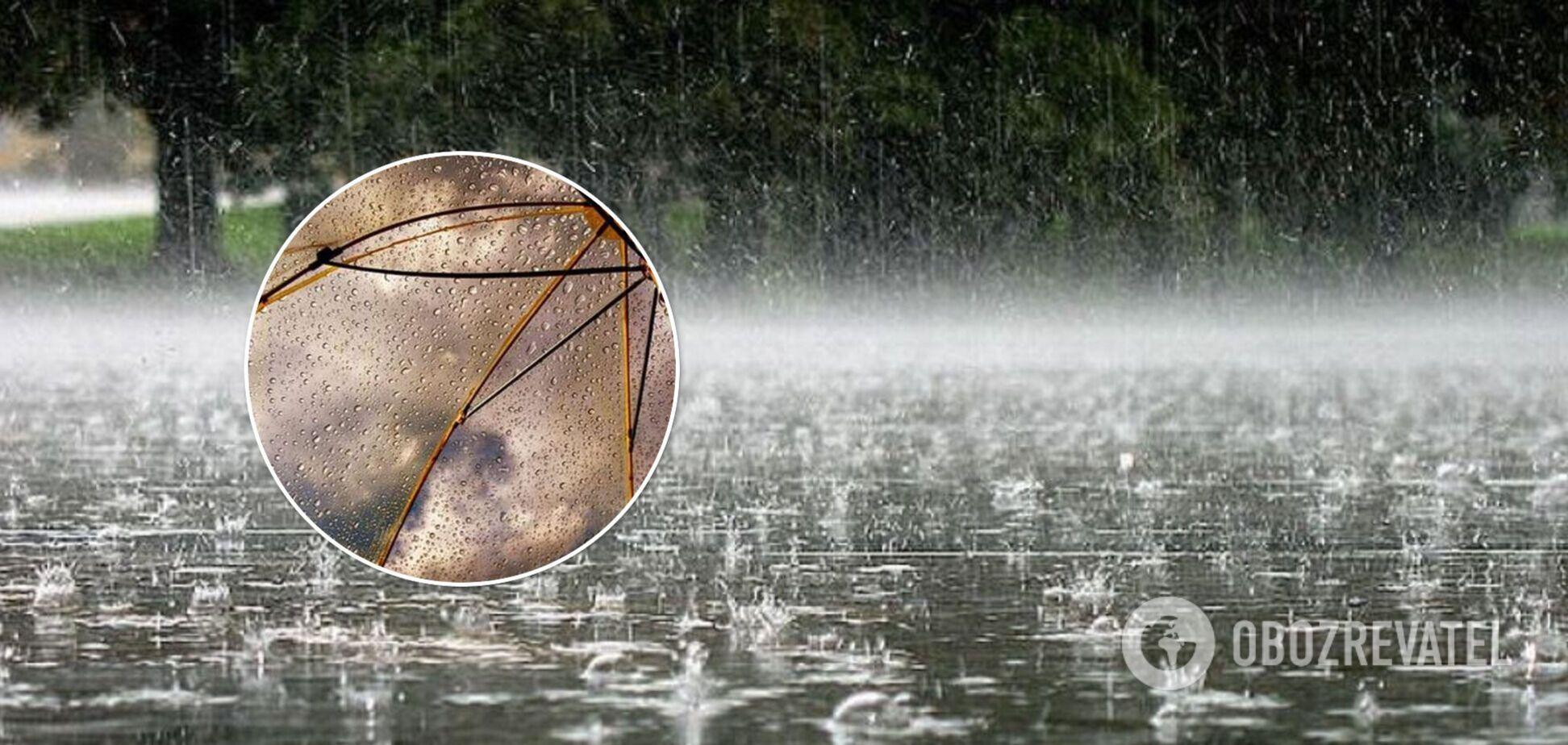 Циклон прийшов завчасно: синоптикиня попередила про зливи в частині України