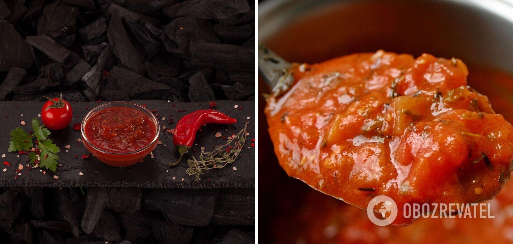 Сацебели – самый вкусный соус на зиму