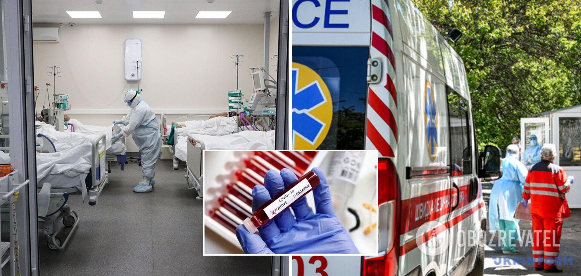 На Харьковщине большинство госпитализированных с COVID-19 не были вакцинированы