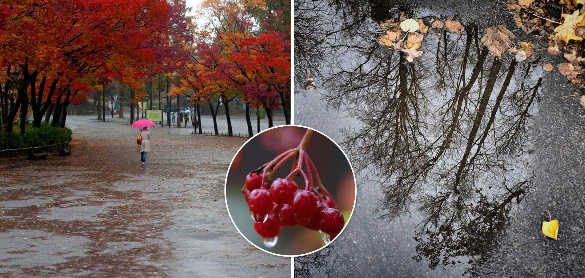 В Україну прийде похолодання, дощі та грози накриють усі регіони: прогноз погоди на вихідні. Карта