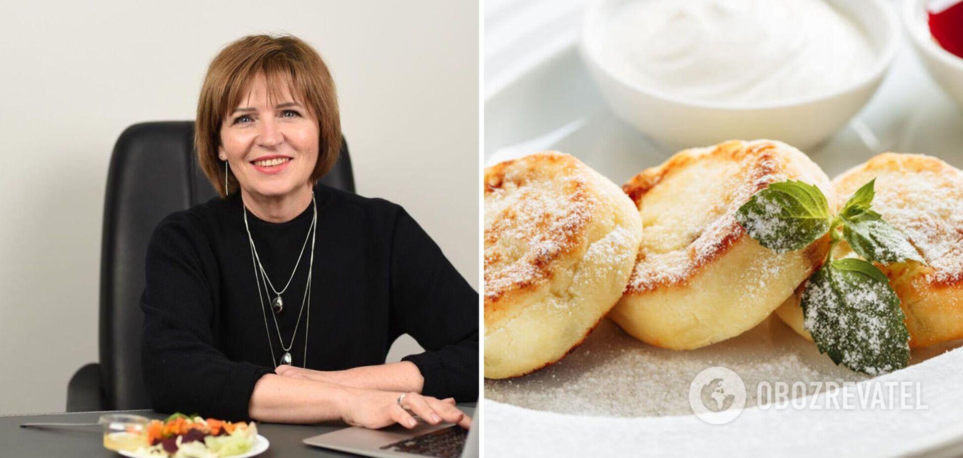 Светлана Фус поделилась рецептом диетических сырников с кокосом