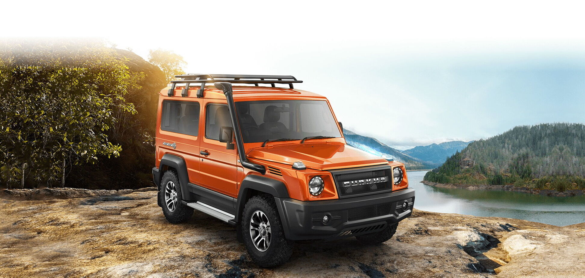 Force Motors представил второе поколение внедорожника Gurkha