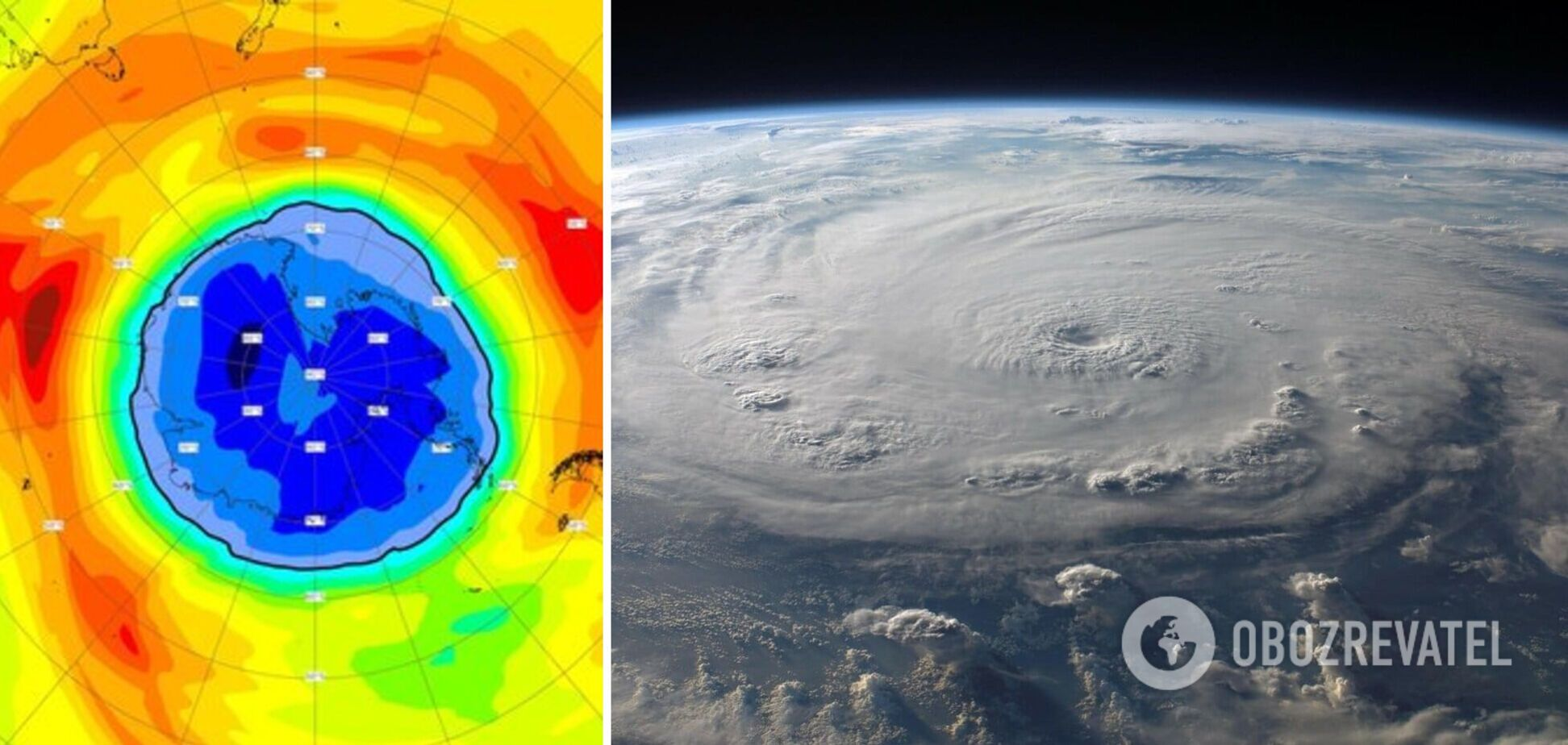 Озонова діра збільшилася