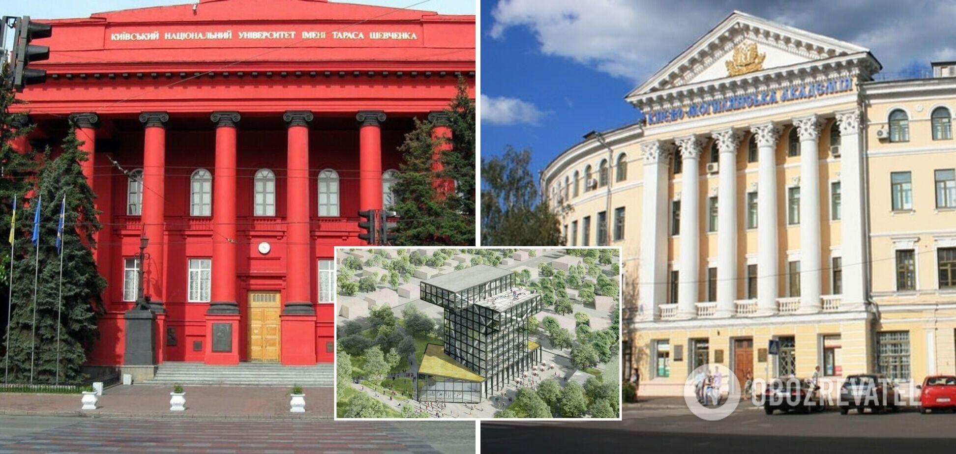В Украине составлен список 100 лучших факультетов Украины