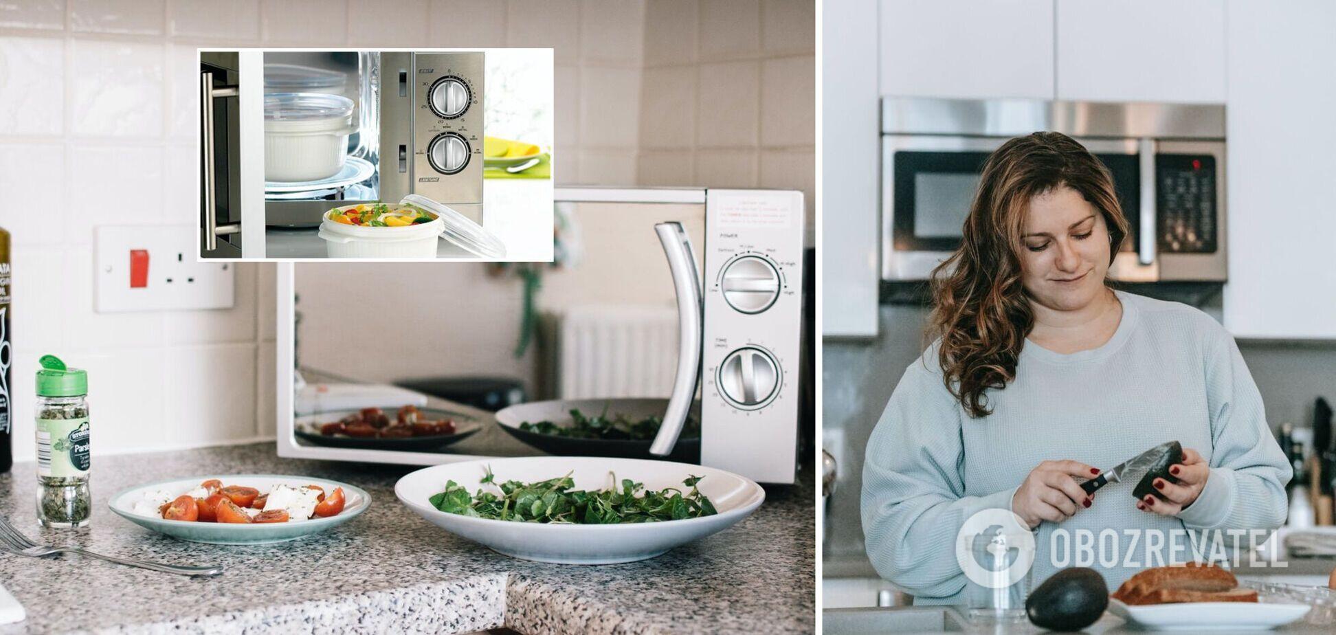 Посуда, которую ни в коем случае нельзя ставить в микроволновку