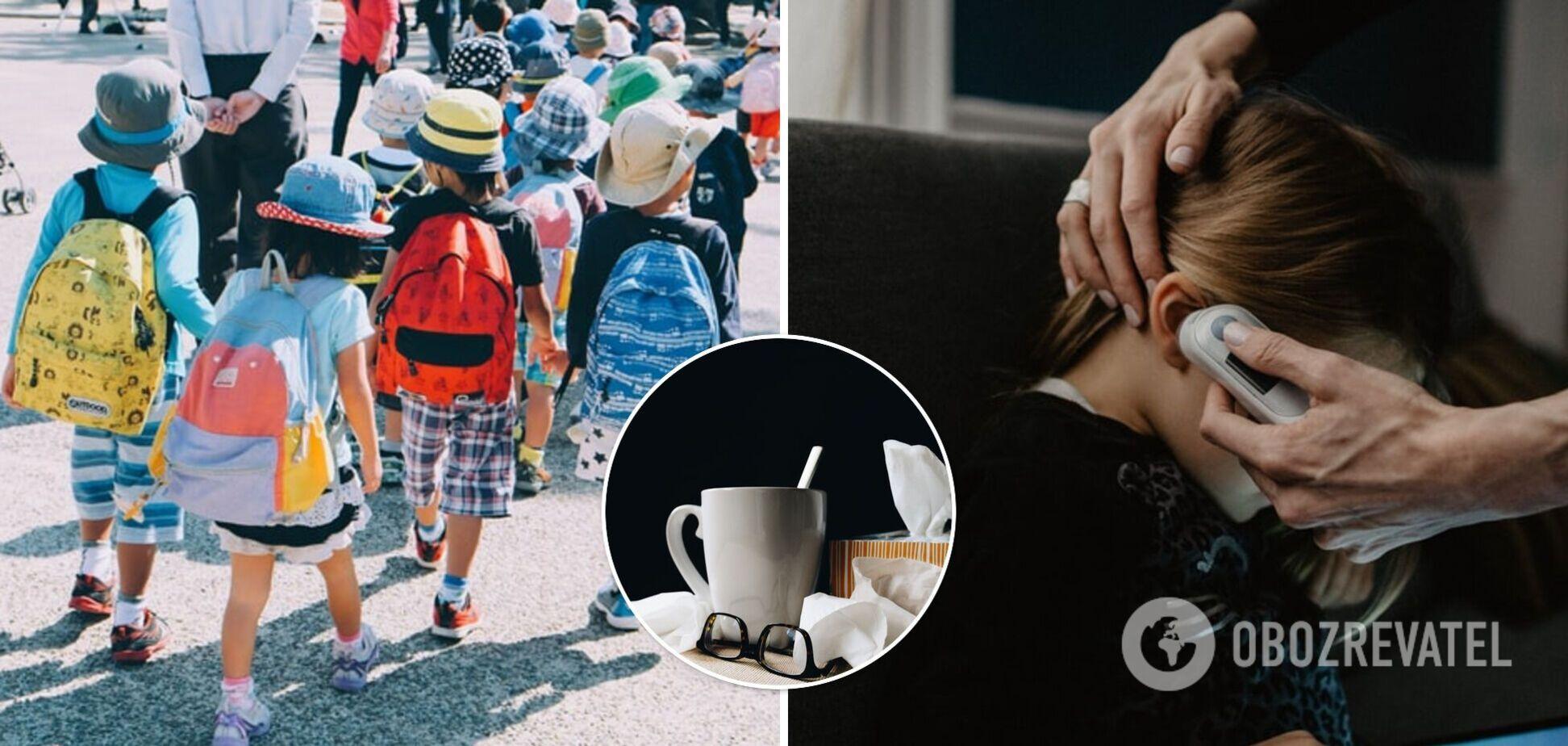 Может ли ребенок с насморком посещать школу или садик: ответ Минздрава