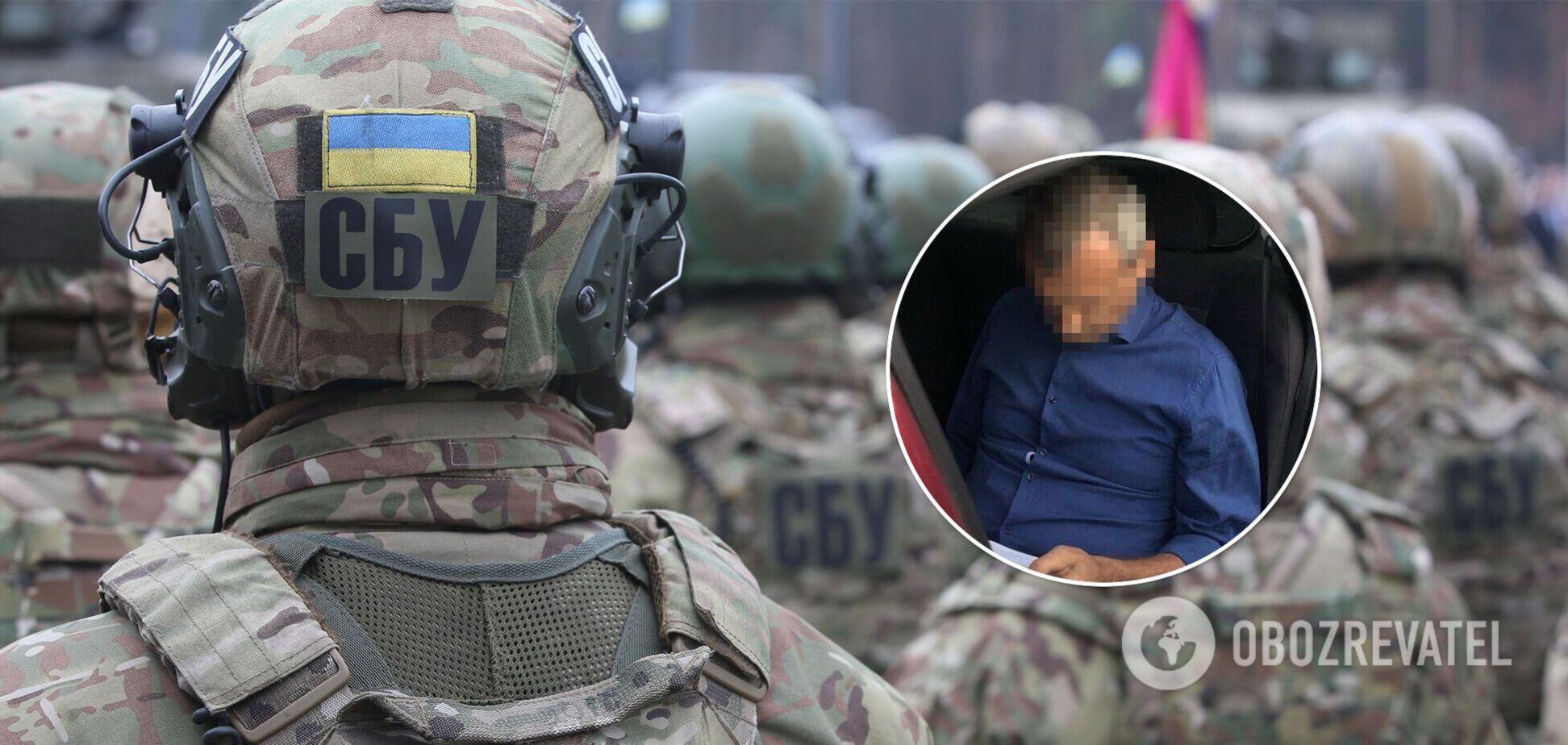 СБУ задержала пророссийского пропагандиста, который призывал к разделению Украины