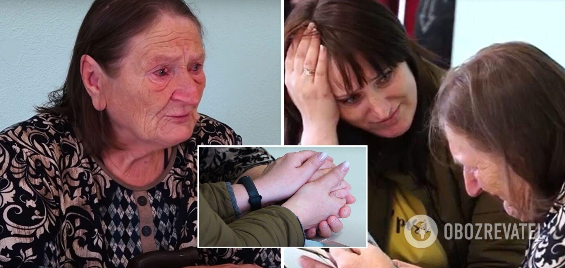 Дочка знайшла маму через 21 рік: жінка втратила пам'ять і жила на вулиці. Зворушливе відео