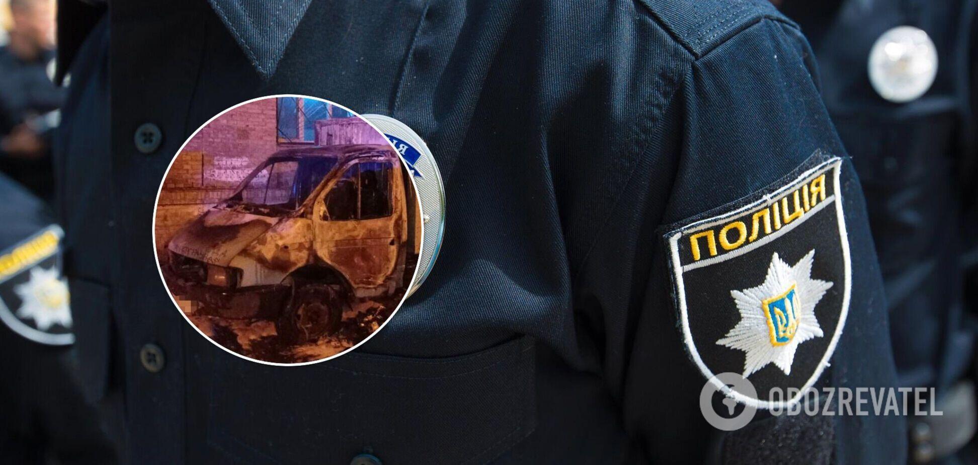 Инцидент произошел на улице Ольжича