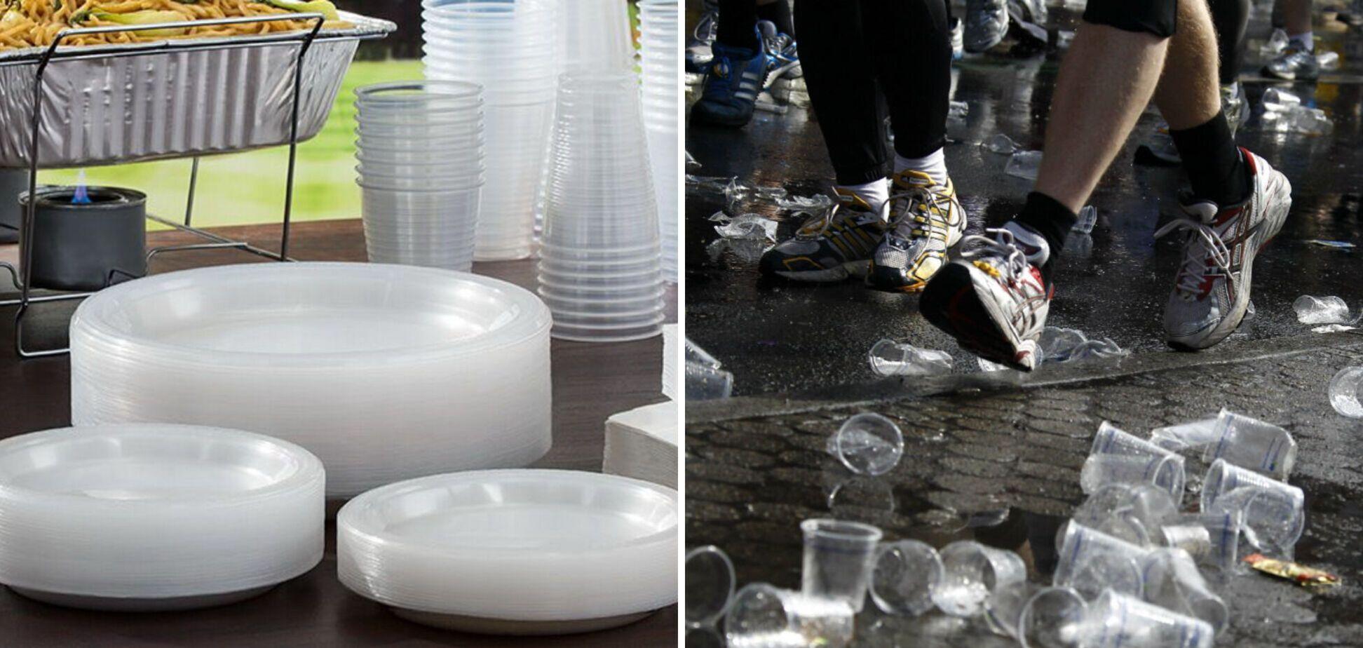 Пластиковий посуд потрапив під приціл законодавців