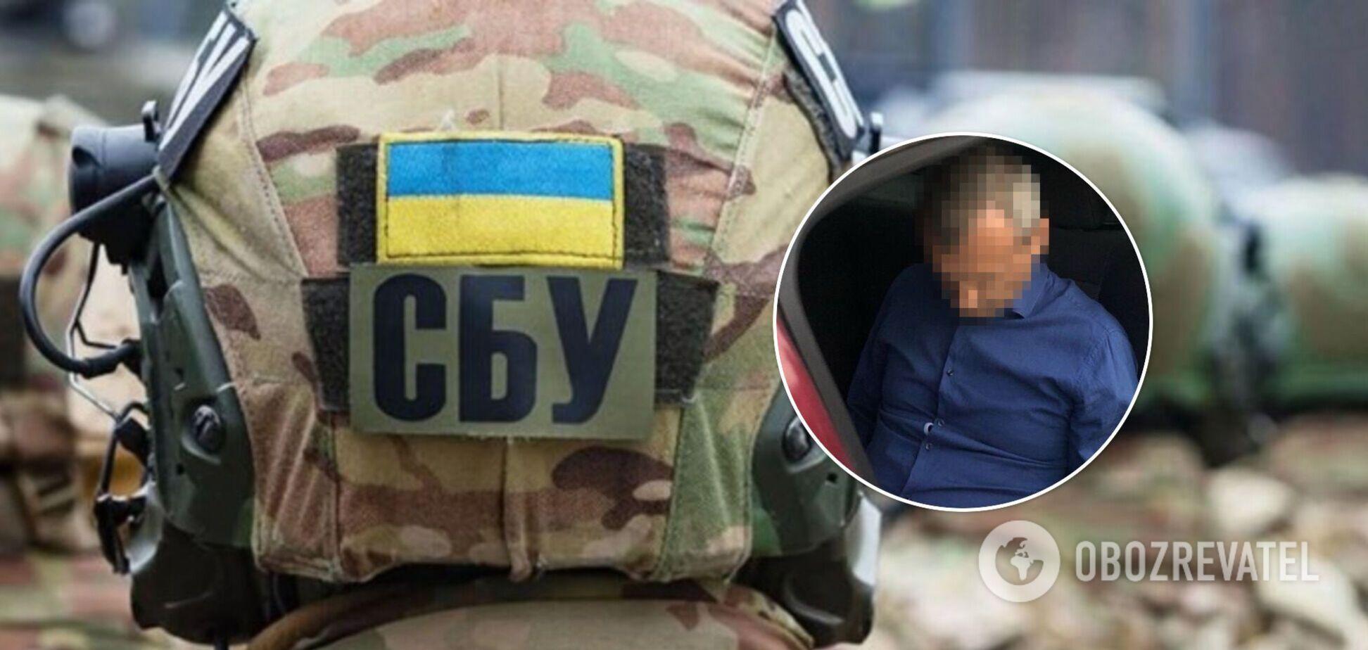 СБУ затримала проросійського пропагандиста, який закликав до поділу України