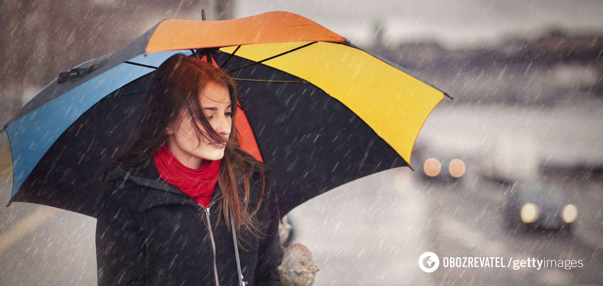 Украину накроют мощные ливни, начнется похолодание: синоптики дали прогноз на выходные