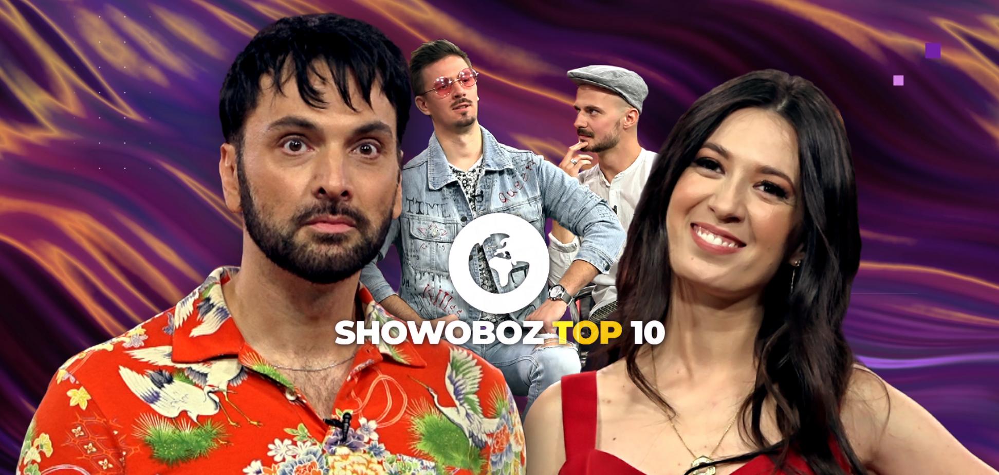 NK vs Minelli, прем'єра від гурту КЛЕЙ УГРЮМОГО та шокуючі зізнання музикантів у новому випуску ShowOboz TOP-10