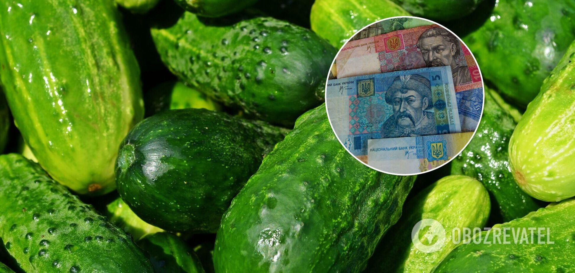 Ціни на огірки в Україні обвалилися