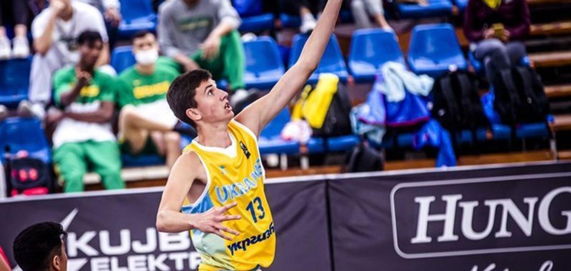 Украинцы уничтожили сборную России на ЧЕ U-17 по баскетболу 3х3
