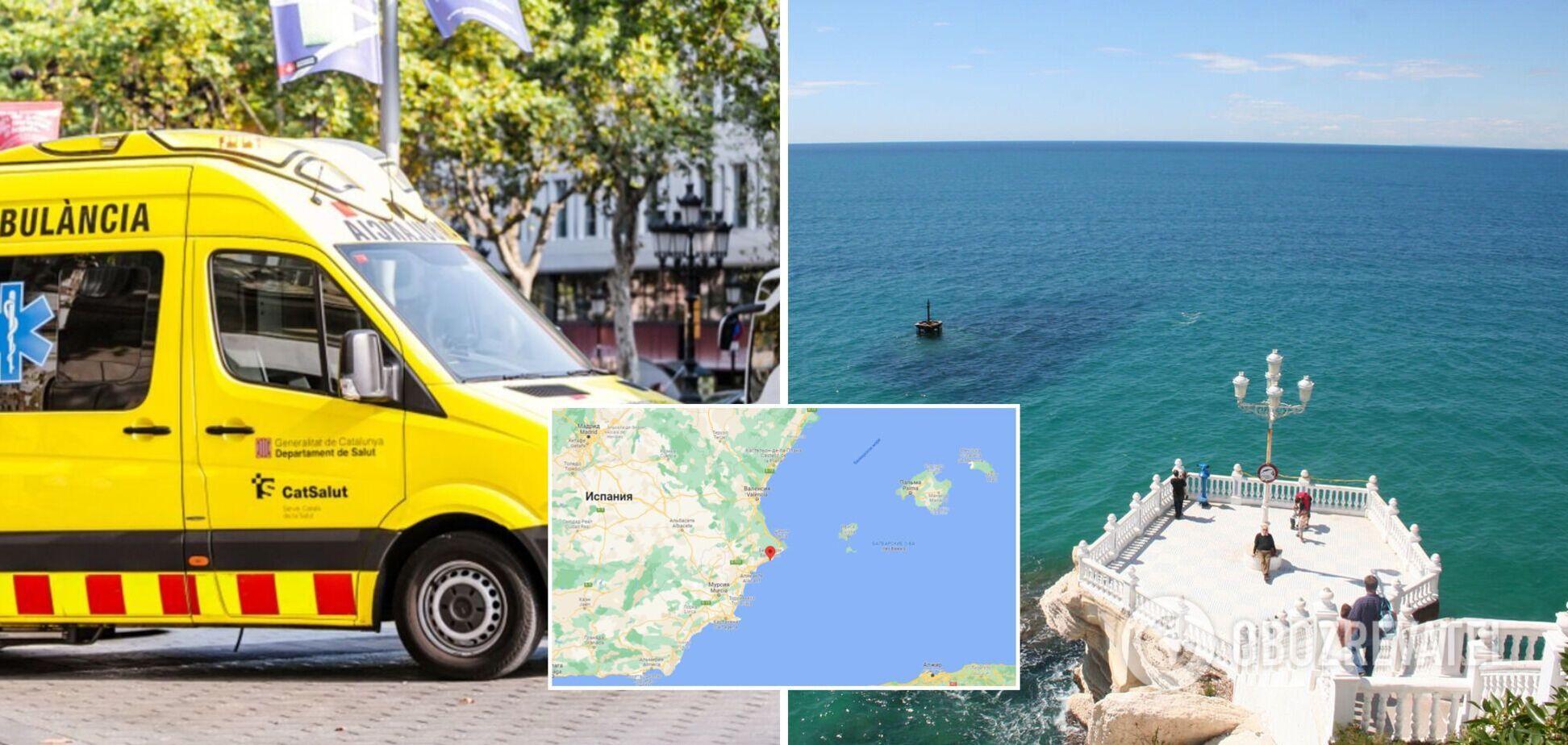 В Іспанії померла українка, яка робила селфі й зірвалася в море