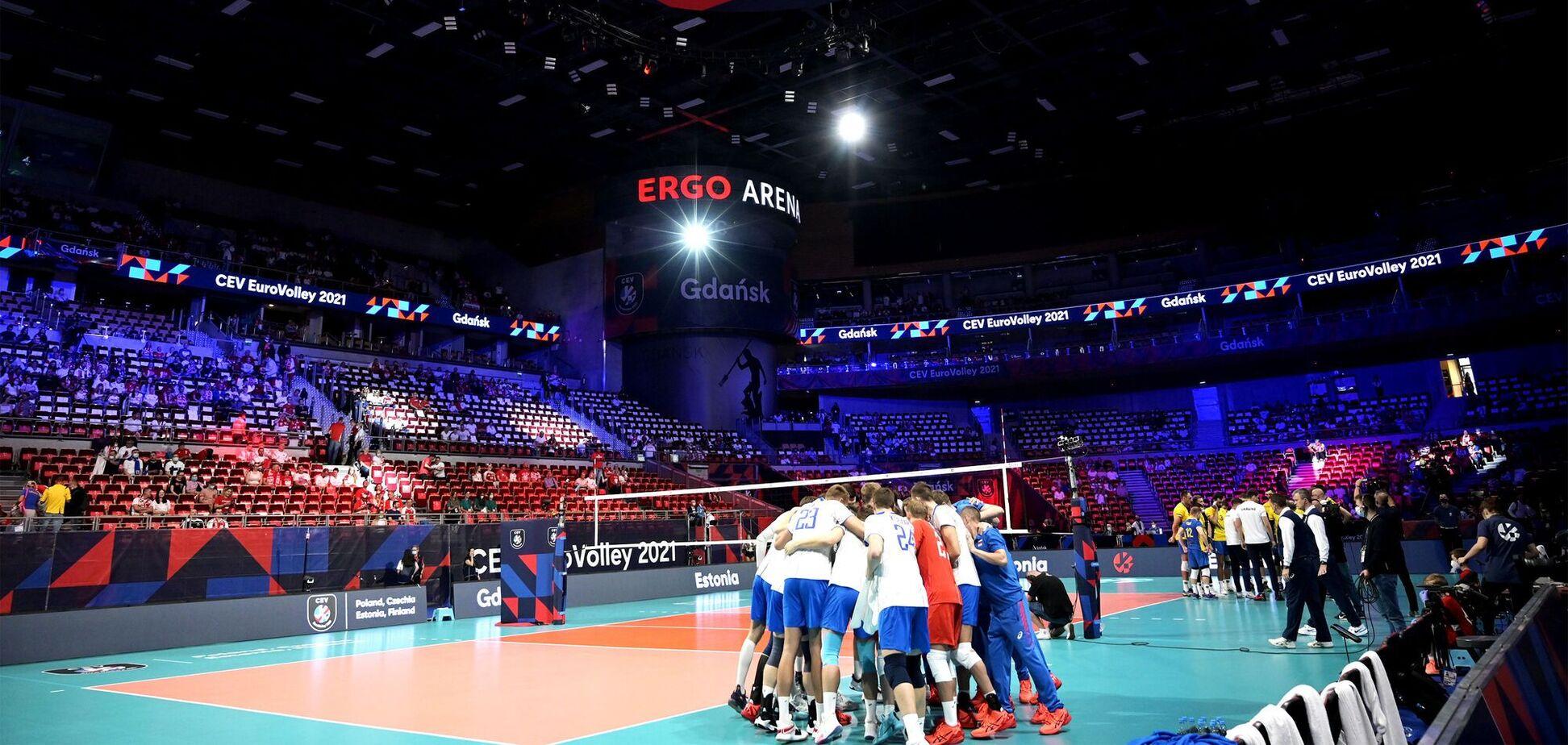 Россия Украина волейбол