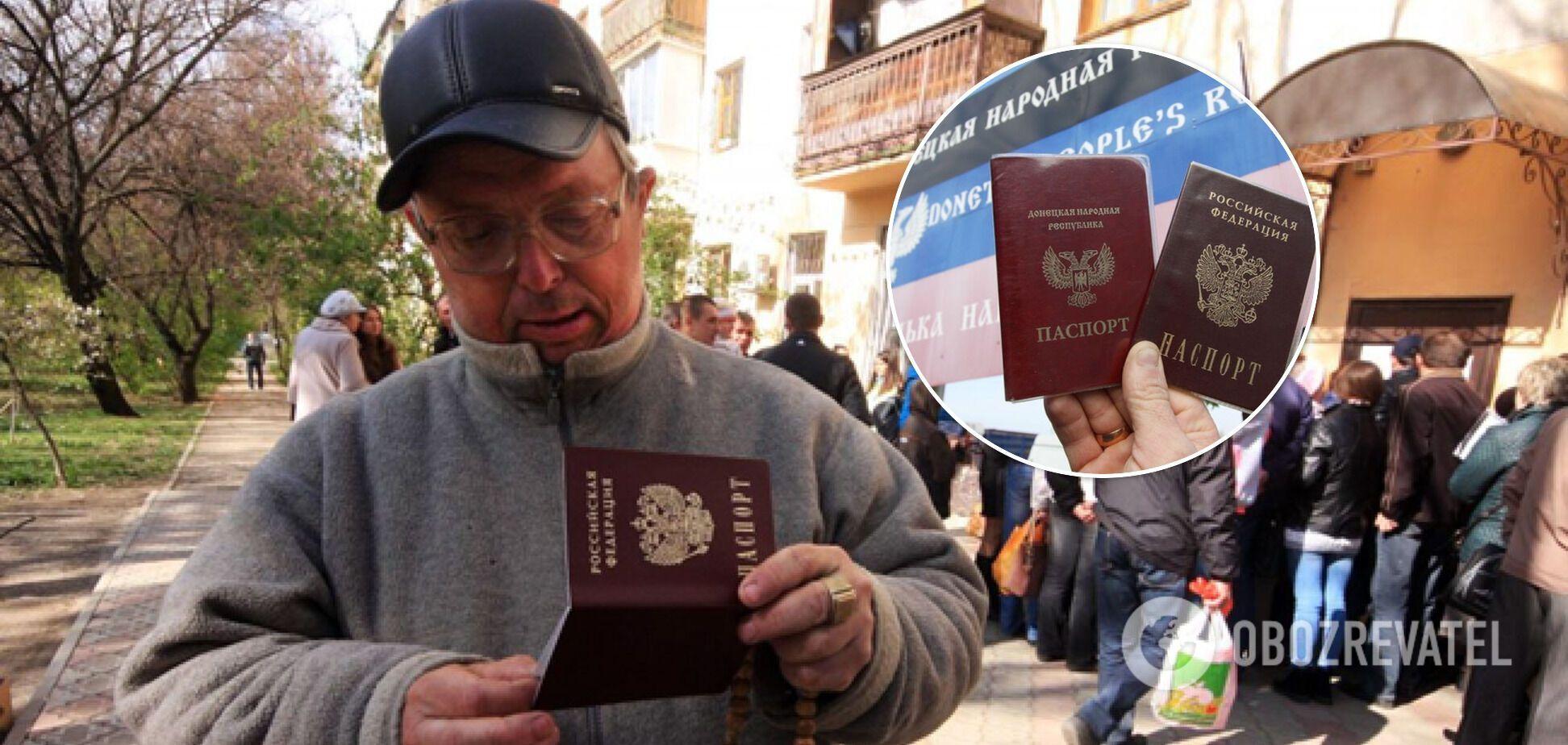 Російські паспорти в ОРДЛО – не питання виживання