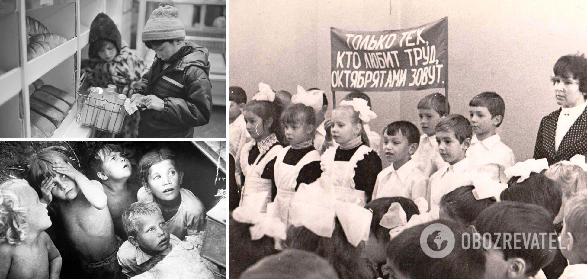 Маленькі дорослі в країні вкраденого дитинства