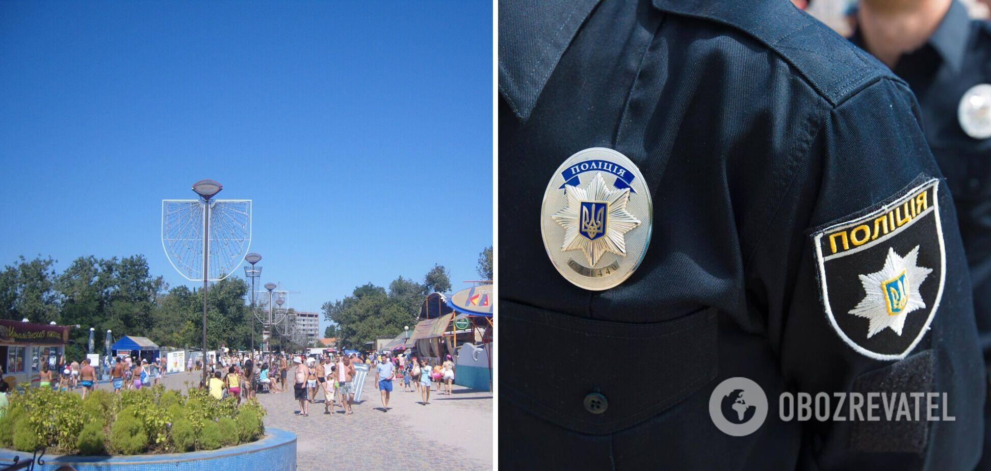 На одесском курорте застрелили мужчину, полиция ввела план 'Сирена'