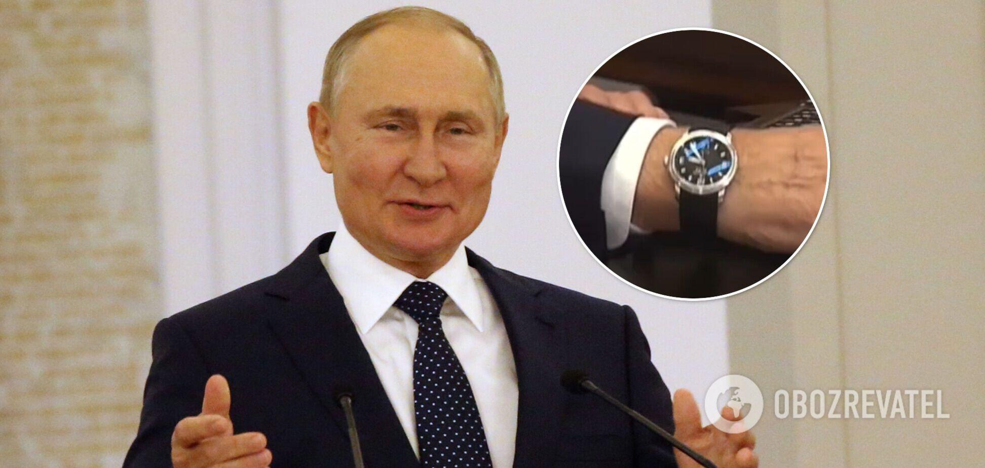У Путина заметили странность на часах