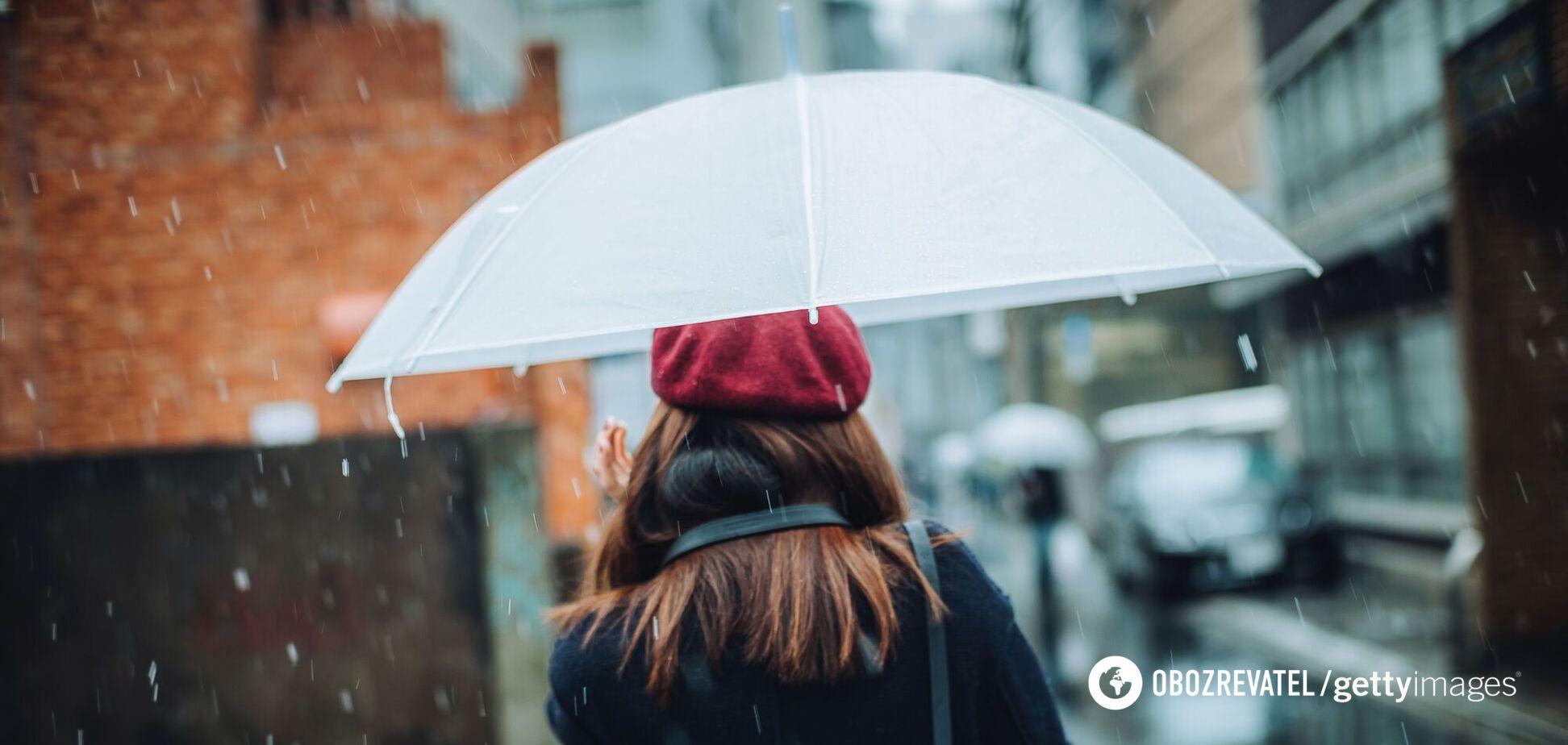 Похолодает до +7 и пойдут дожди: синоптик уточнила прогноз погоды в Украине
