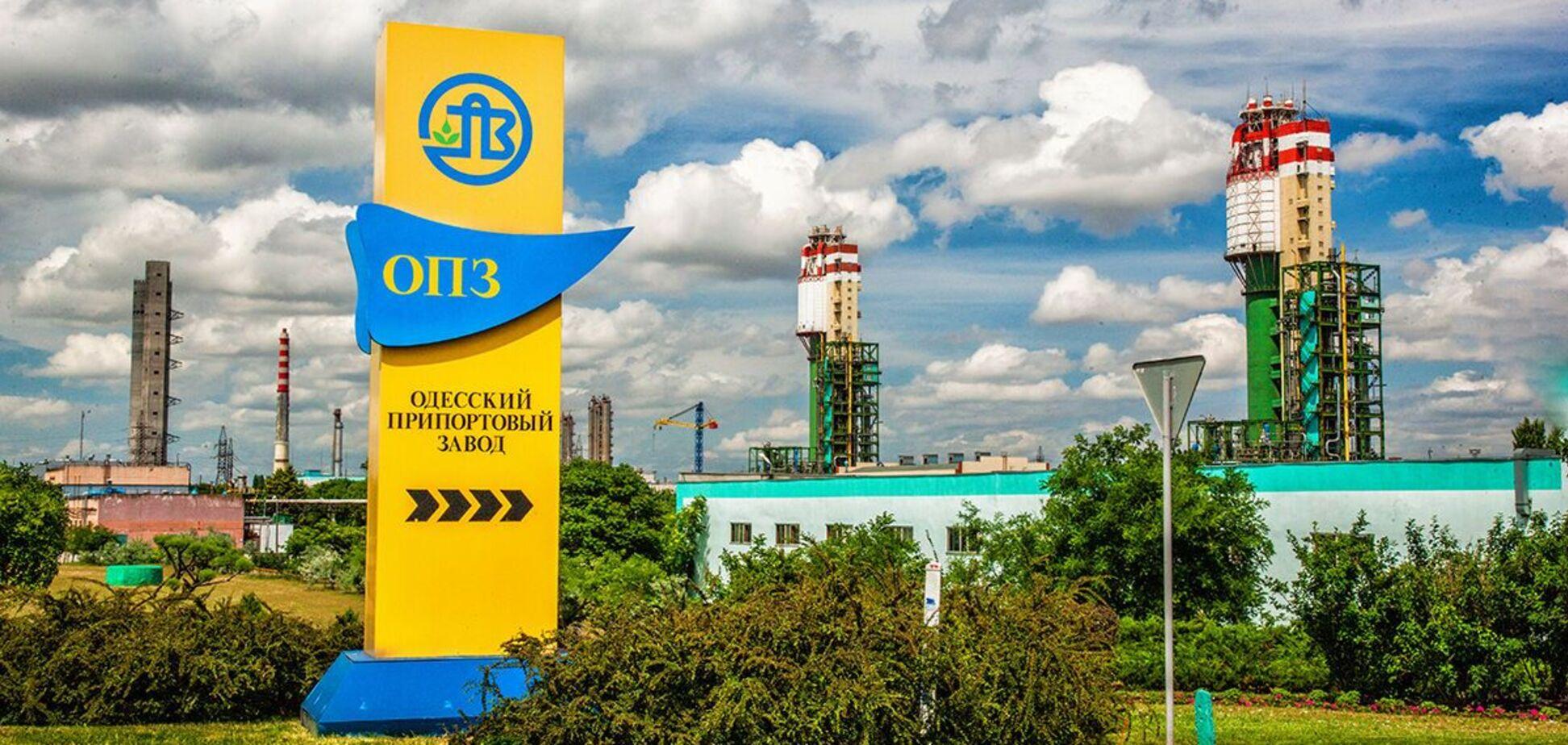 Одесский припортовый завод останавливает работу: названы причины