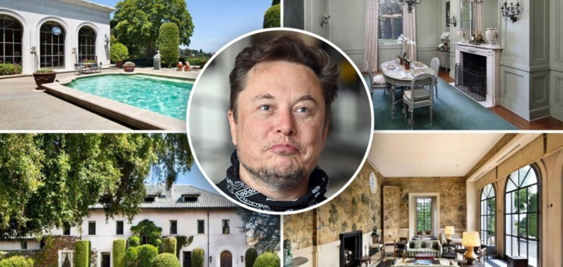 Маск вирішив не продавати свій особняк біля затоки Сан-Франциско. Фото