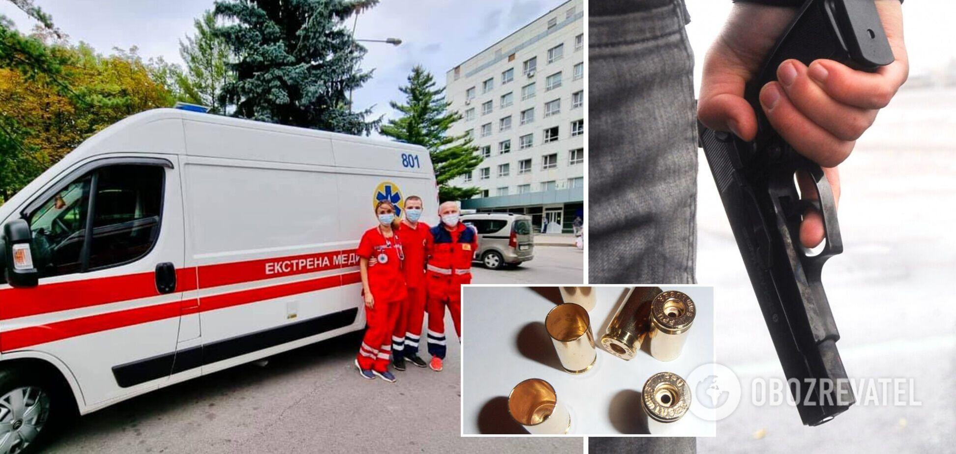 У Харкові чоловік вирішив зіграти в 'російську рулетку' і потрапив до лікарні з пораненням голови