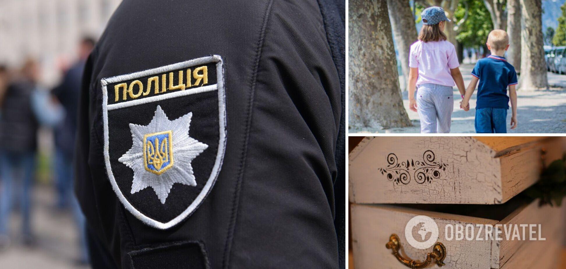 В Донецкой области при странных обстоятельствах погибли двое детей: их нашли мертвыми в сундуке