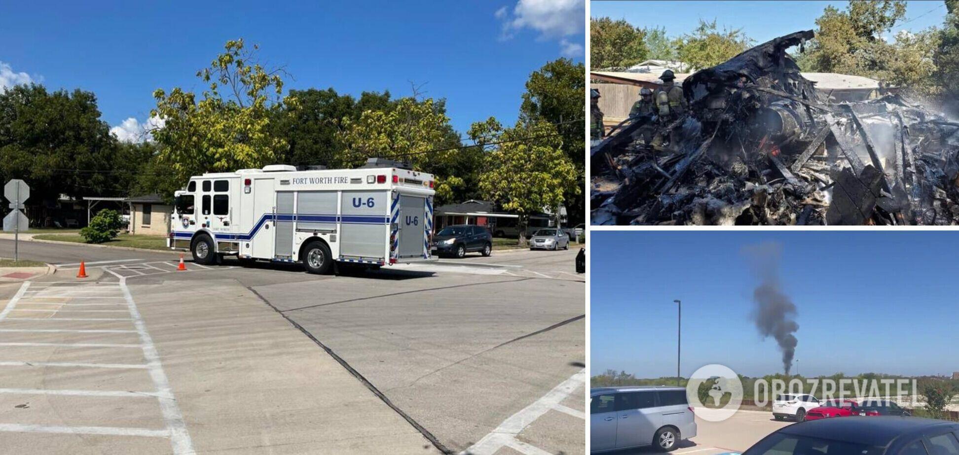 В Техасе разбился военный вертолет