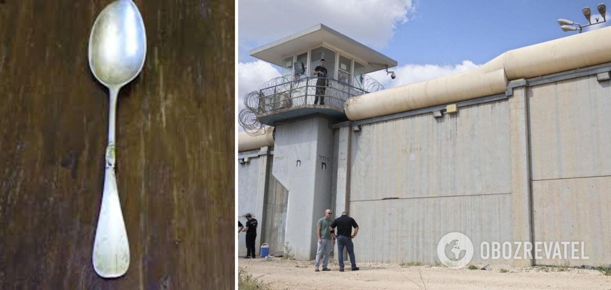 Вырыли тоннель ложкой: в Израиле задержали двух сбежавших из тюрьмы преступников
