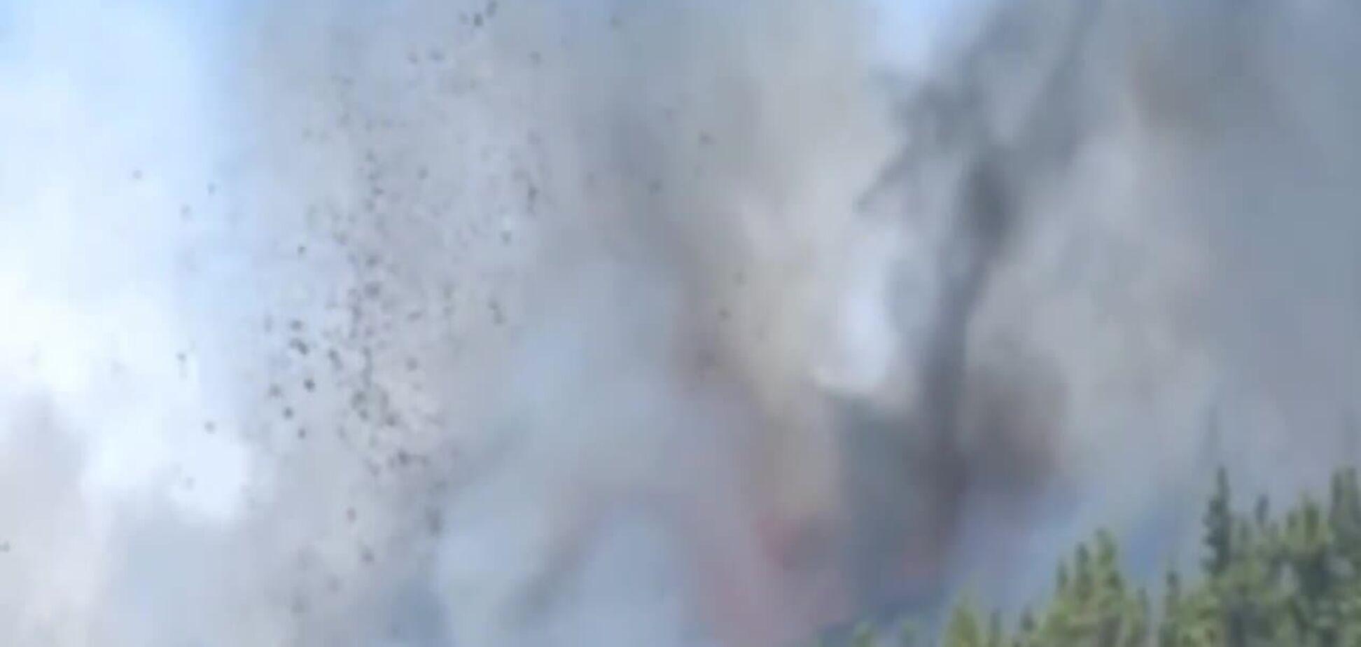На Канарах почалося виверження вулкана