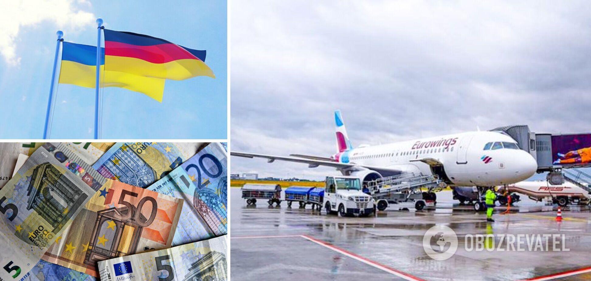 Лоукостер Eurowings виконав перший рейс із Німеччини в Україну