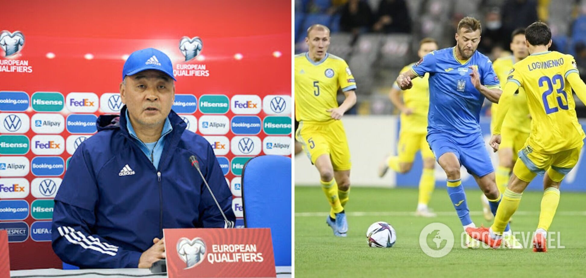 Байсуфинов высказался о матче Казахстан - Украина
