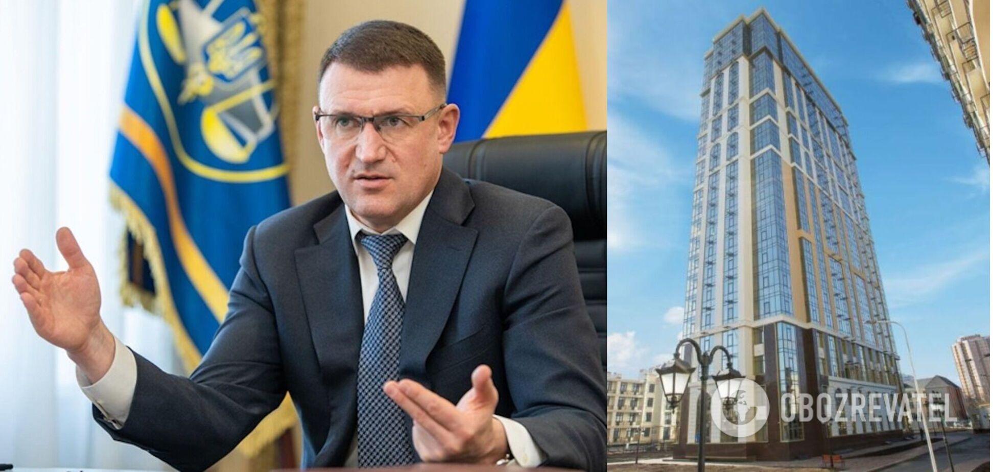 У Вадима Мельника нашли элитную квартиру